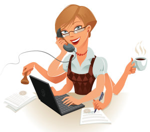 order taking, multi task receptionist, receptionist services