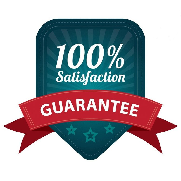 100% satisfaction guarantee, novuscall guarantee